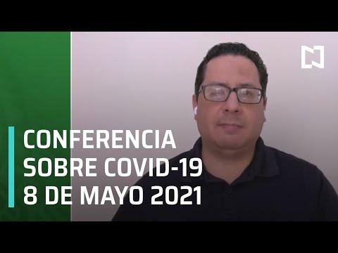 Informe diario Covid-19 en Vivo - 8 de Mayo 2021