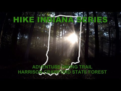 Hike Indiana: Adventure Hiking Trail, Harrison-Crawford State Forest
