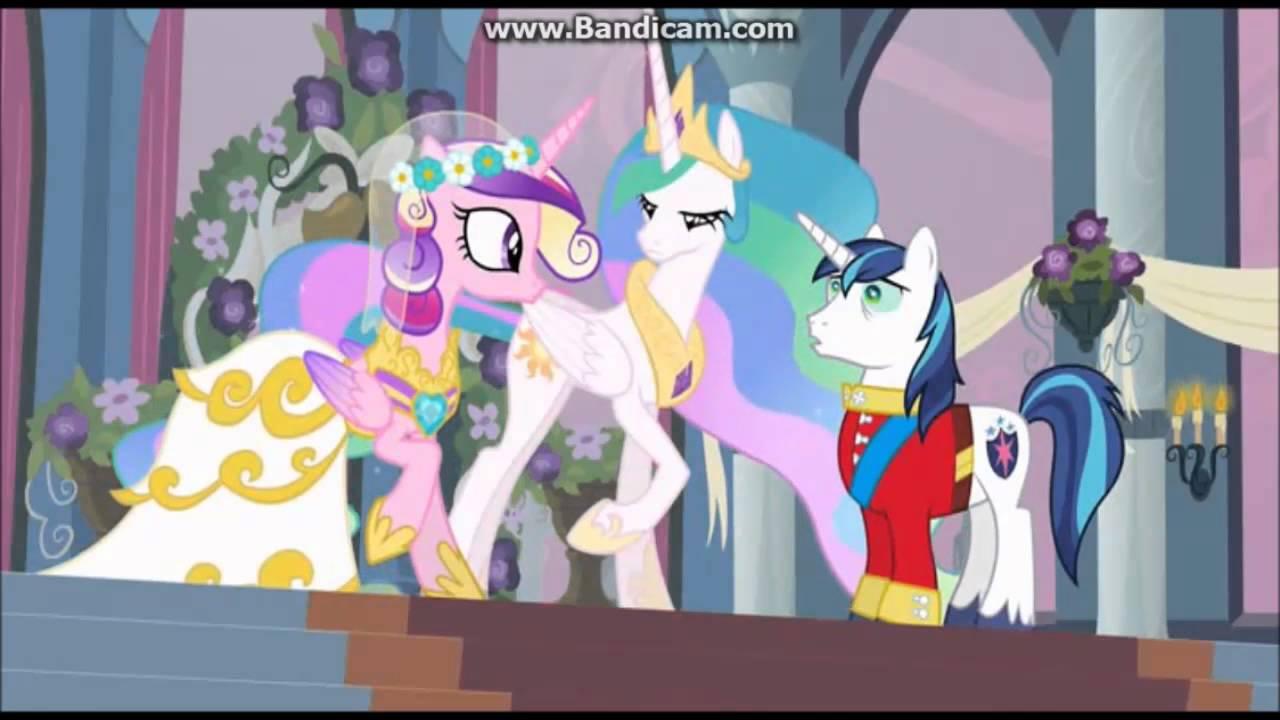 Мой маленький пони свадьба принцессы каденс 1 часть и 2 часть