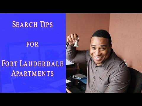 How to Rent a Fort Lauderdale Florida Apartment