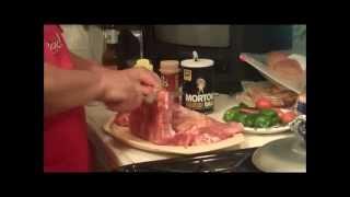 Cajun Deep Fried Pork Ribs.