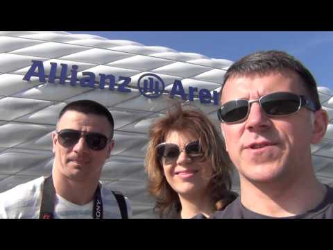 Allianz Arena - football stadium (Munich, Germany)