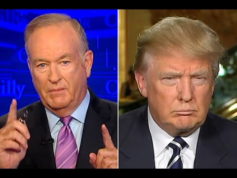 O'Reilly Confronts Trump Over Neo-Nazi Retweet
