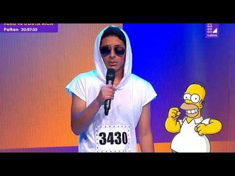 Download Imitador de Maluma sorprendió imitando a Homero Simpson, Bob Esponja y Calamardo - Yo Soy