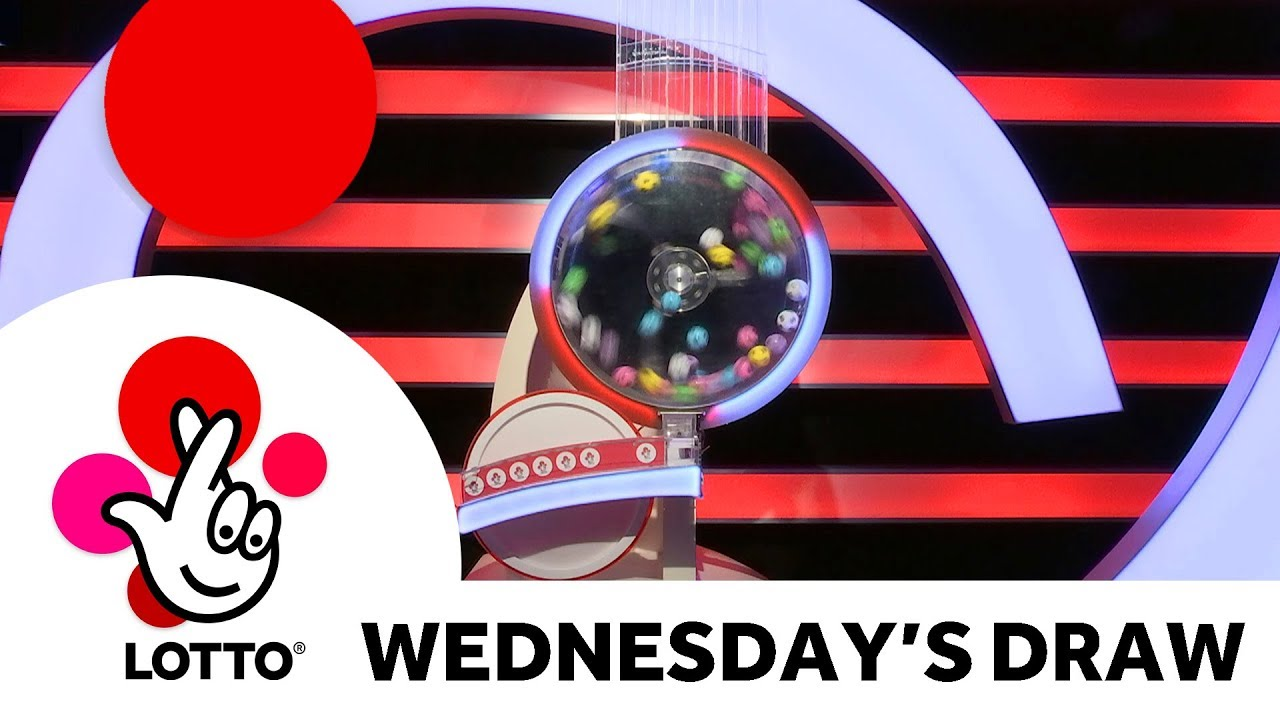 The National Lottery 'Lotto' draw results from Wednesday