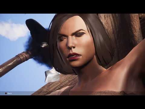 Conan Exiles - intro, settings & female creation