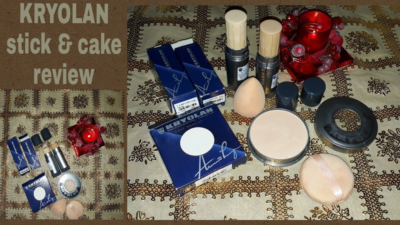 Kryolan Tv Paint Stick Heavy Coverage Stick Foundation Review In Urdu Hindi Youtube