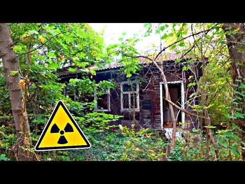 ✅Нашли супер сохранившийся ДОМ в Чернобыле и там РАБОЧИЙ ТРАКТОР