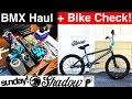 MASSIVE BMX HAUL, BUILD, AND BIKE CHECK!