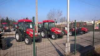 Nowe traktory ogrodowe  McCormick 4x4. www.traktorki.waw.pl