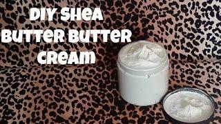 DIY Creamy Shea Butter Whip | Cheetahprintangel
