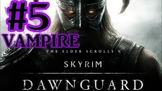 The Elder Scrolls V: Skyrim Dawnguard DLC Walkthrough - Part 5 Redwater Den