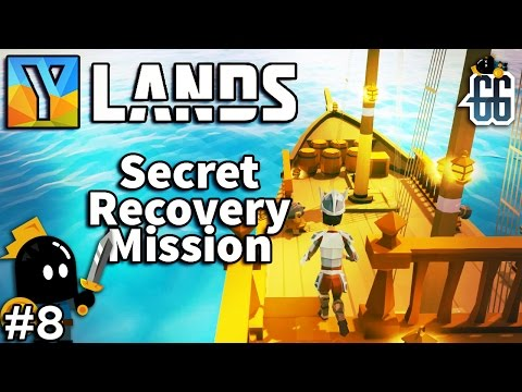 Ylands - Finishing Ship construction and recovery mission - EP8