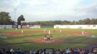 Tigers at Doubledays, top of the first, Aug. 9, 2013