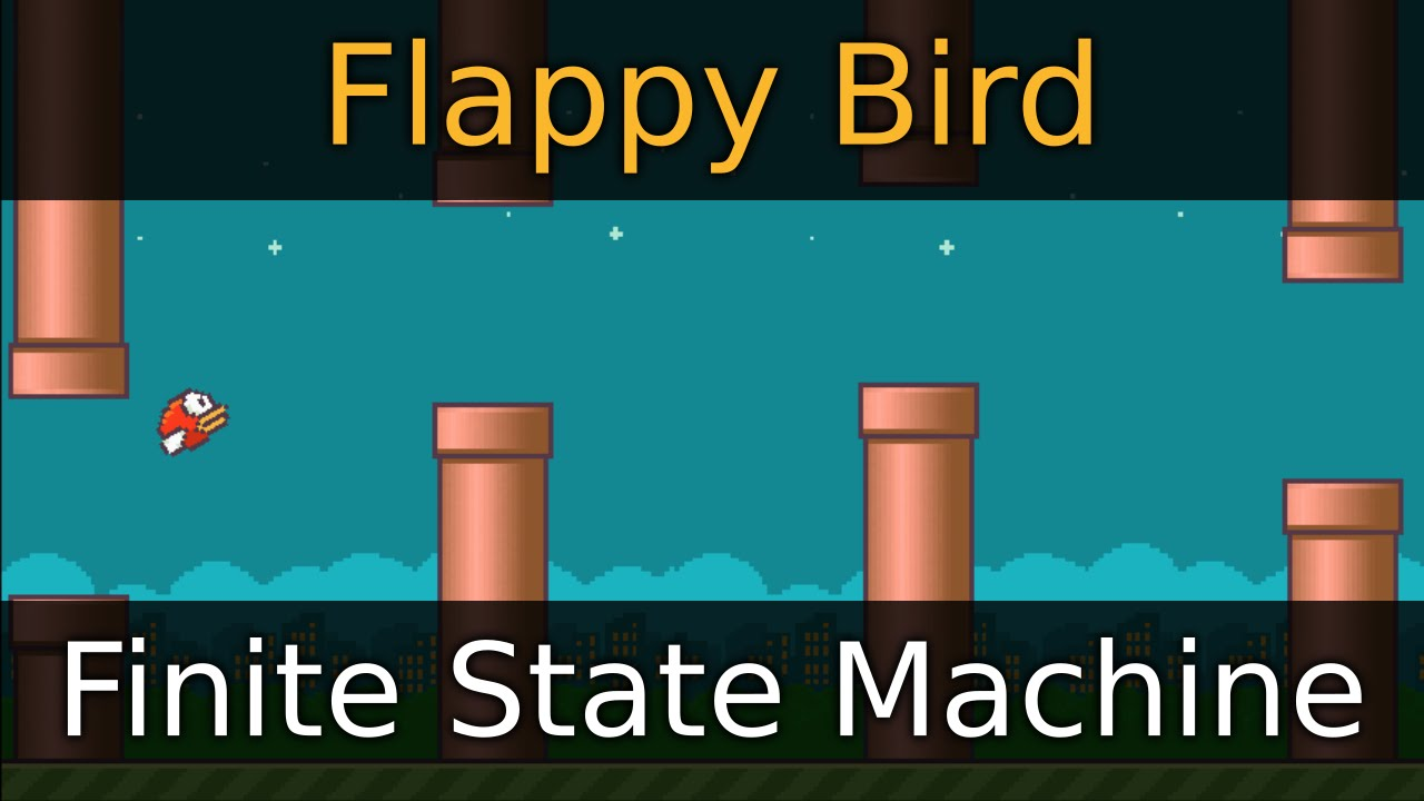 Godot Engine Tutorial - Flappy Bird - 04 Finite State Machine