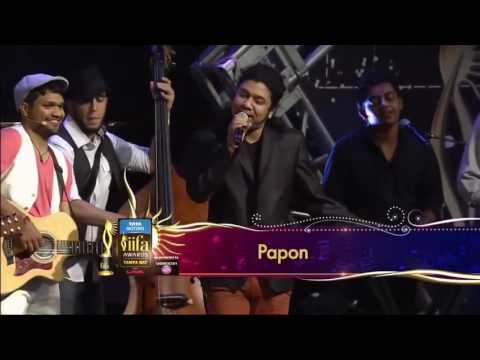 Pritam and papon at iifa
