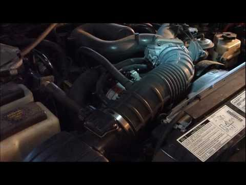 How to replace a V6 Ford Explorer alternator  YouTube