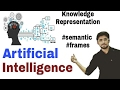 Knowledge Representation | semantic networks | Frames | artificial intelligence | Hindi | #19