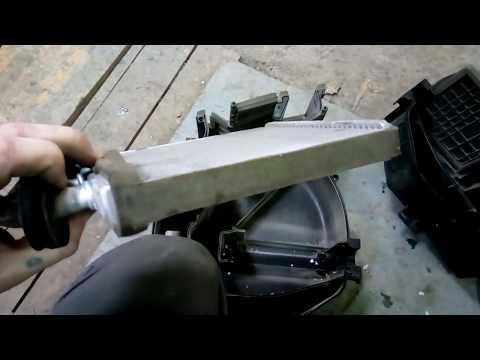 Замена радиатора печки киа рио 1 рестайлинг