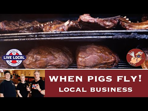 When Pigs Fly! Barbecue | Local Business Owners | Live Local Wichita