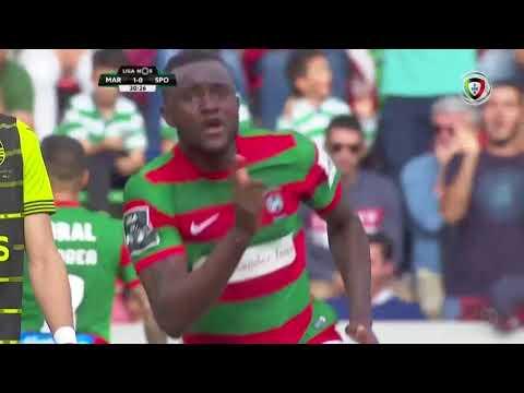 Goal | Golo Joel: Marítimo (1)-0 Sporting (Liga NOS 2017/18 #34)