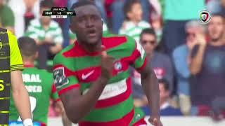 Goal | Golo Joel: Marítimo (1)-0 Sporting (Liga 17/18 #34)