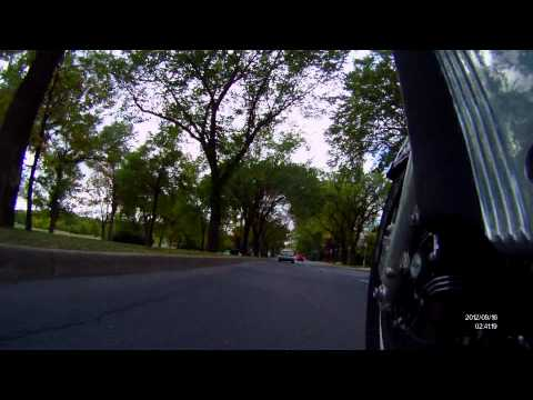 Ride around Wascana Park in Regina SK