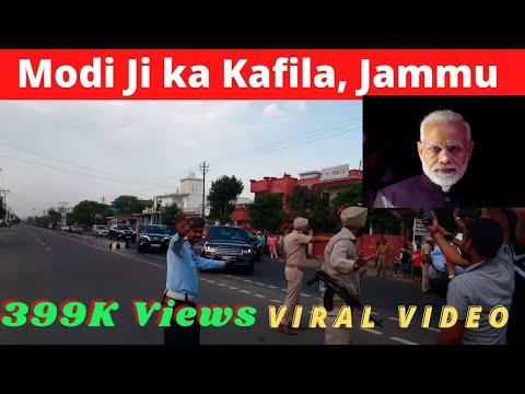Modi Ji ka Kafila, During Jammu Tour