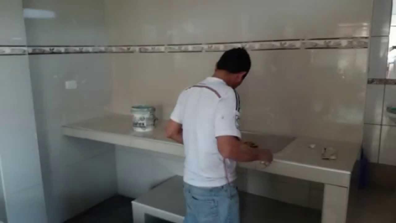 Acabado de cocina youtube for Azulejos de cocina 2016