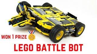 MAXIMUM IMPACT lego battle bot-- first prize winner