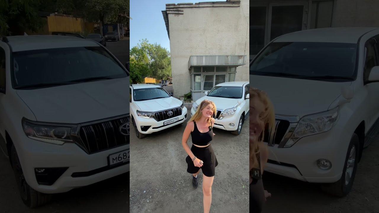Prado правый руль VS Prado левый руль #shorts #настятуман