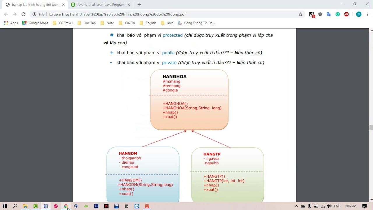 Giải Bài Tập Mảng Nhiều Object Trong Java – Môn Lập Trình Hướng Đối Tượng (P1)