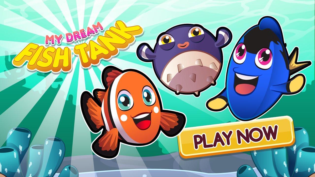 Aquarium fish tank game - My Dream Fish Tank Aquarium Game For Android And Iphone