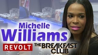 Michelle Williams Interview at The Breakfast Club Power 105.1 (9/11/2014)
