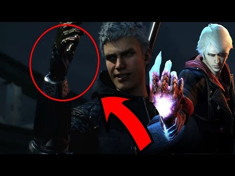 How did nero loose his arm in devil may cry 5???