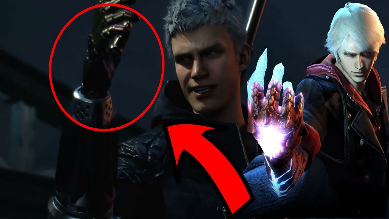 Image result for devil may cry 5 arm