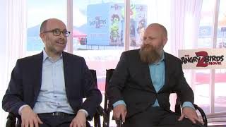 The Angry Birds Movie 2 Cannes Event  || John Cohen & Thurop Van Orman Interview || #SocialNews.XYZ