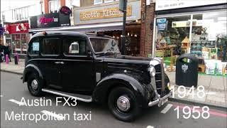 The Evolution of The London Taxi