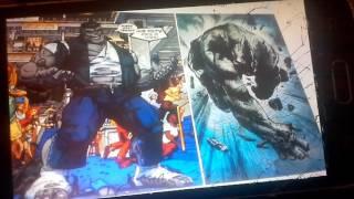 Серый халк (Джо Фиксит) vs Носорога
