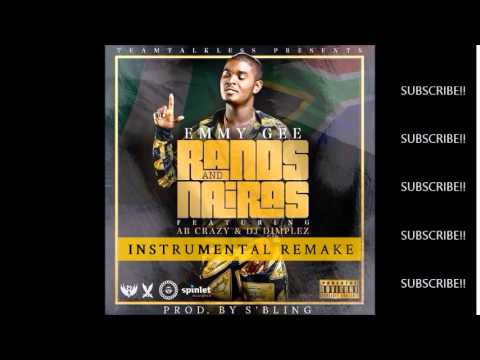 Emmy Gee - RANDS and NAIRAS - Official Instrumental Remake | Prod By S'Bling