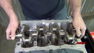 How To Rebuild A 1.3L Sużuki Samurai Engine (Part 1) Crankshaft Installation