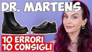 DR MARTENS: come indossarle senza ERRORI!