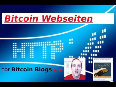 Tolle Bitcoin Info Webseiten, Podcast aus Leibzig, Transaktionsgebühr Hinweis