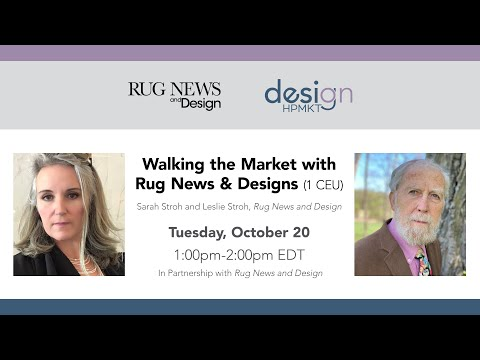 Walking the Market with Rug News & Design
