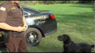 2012-09-27 News Watch Video - New Coles County K9 Officer
