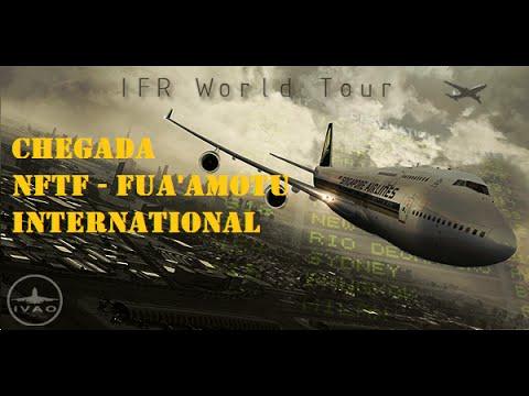 World Tour Leg#19 - Rarotonga (NCRG) - Fua'amotu (NFTF) - Chegada