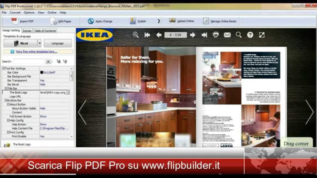 How to flip a pdf image