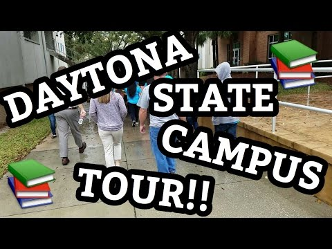 DAYTONA STATE COLLEGE CAMPUS TOUR!!
