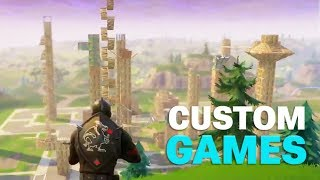 Building a NEW CITY, Covering Loot Lake and Zombie Mode in Custom Games!
