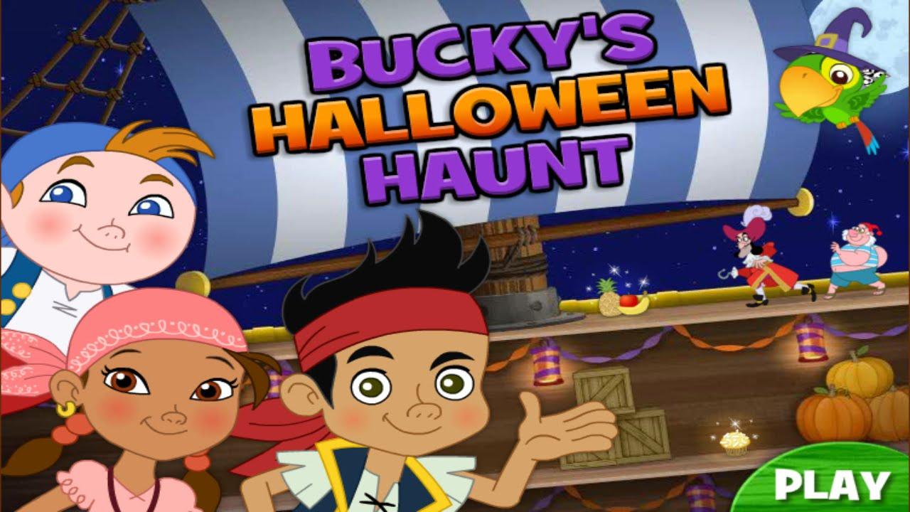disney junior jake and the neverland pirates game buckys halloween